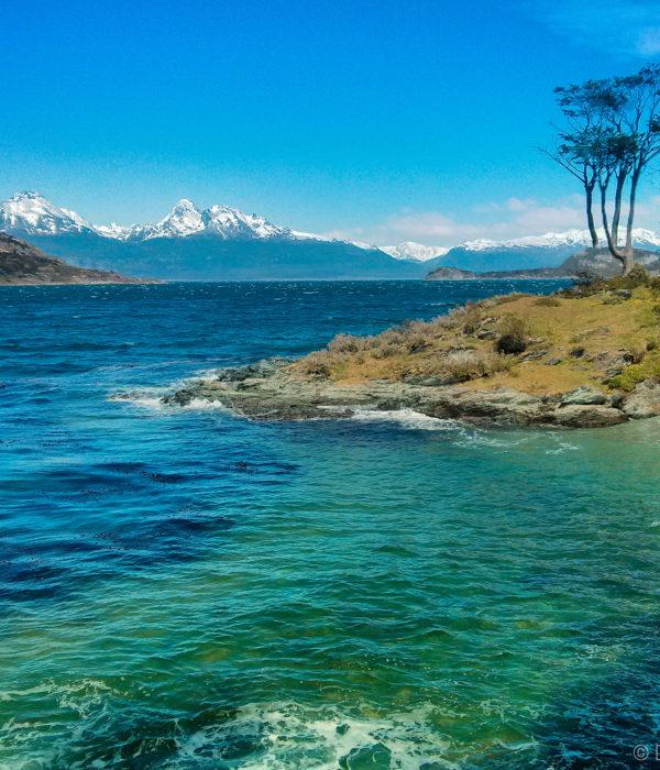 Plage d'Argentine - plage des Terres de feu