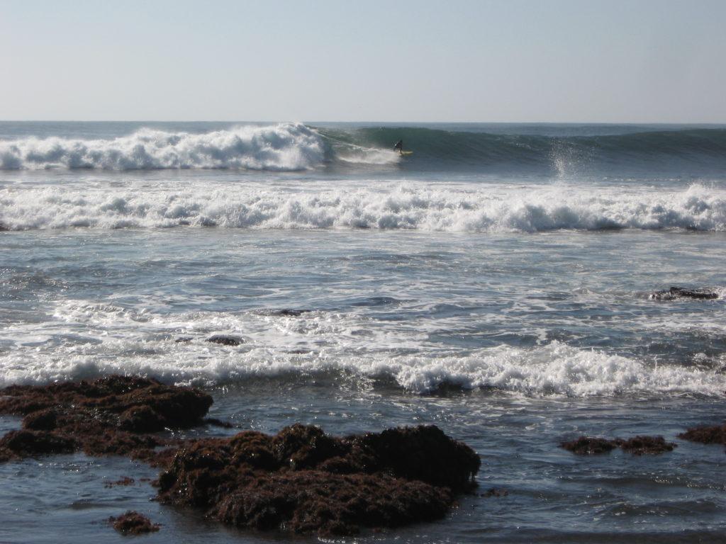 Spot de surf de Punta de Lobos, Chili