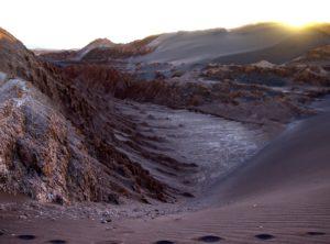 Visiter le désert d'Atacama, La Vallée de la Lune, Chili.