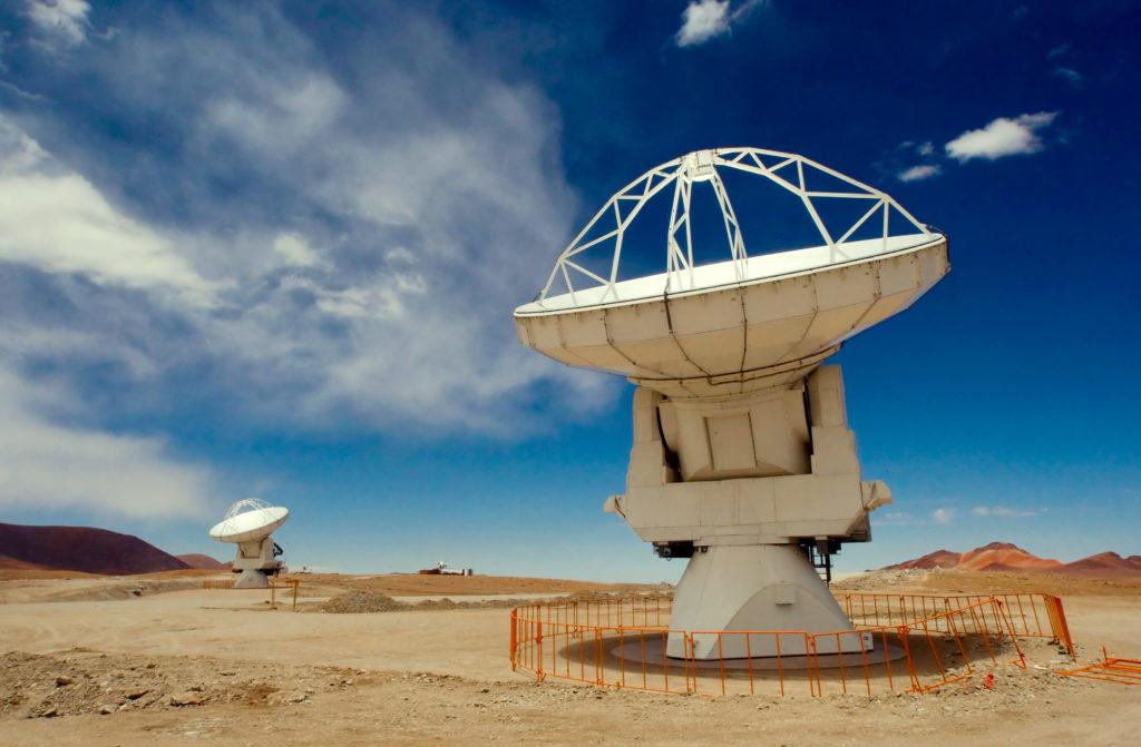 visiter le nord du chili : Observatoire de l'Alma