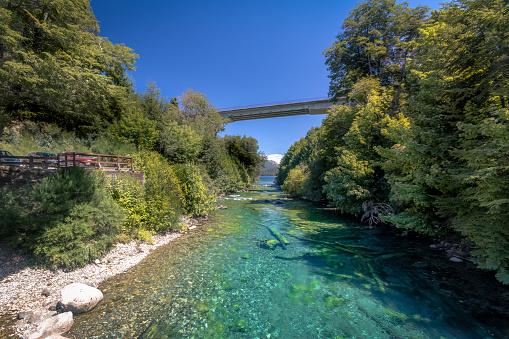 route des 7 lacs : lac correntoso