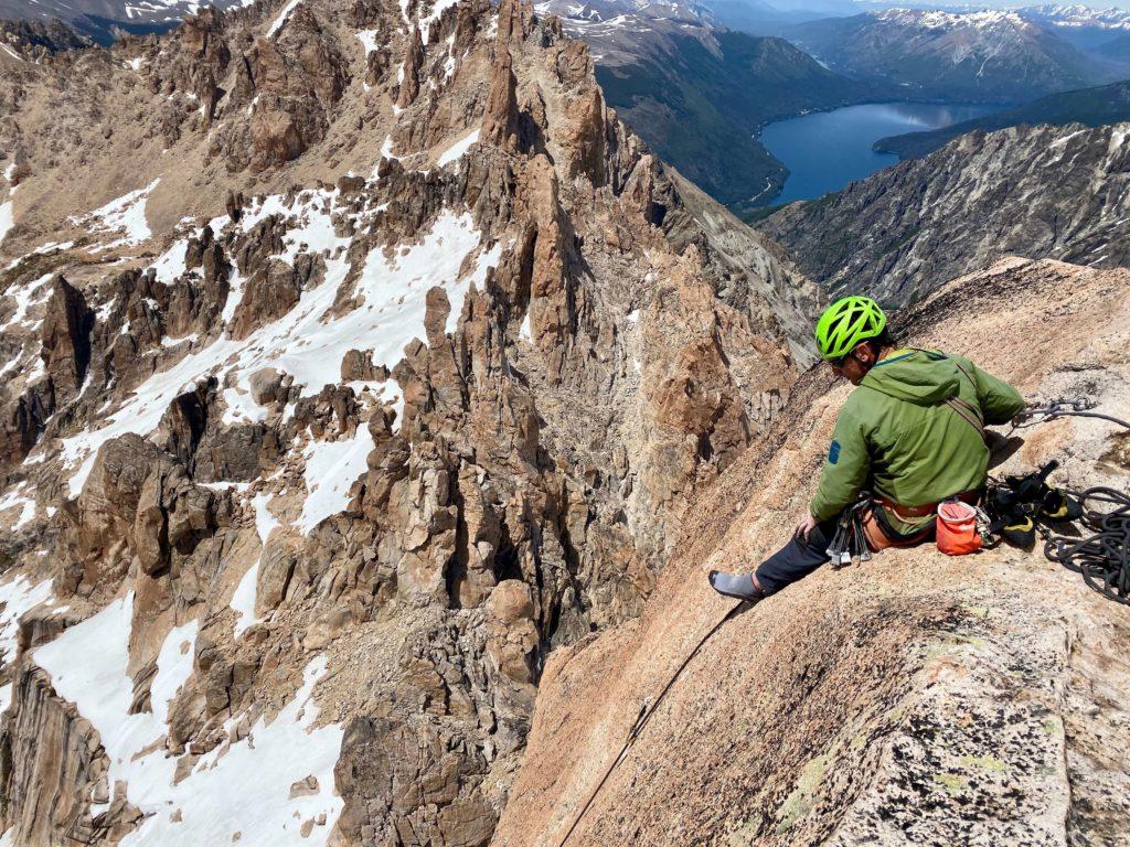 Refugio Frey spot d'escalade en Argentine Bariloche