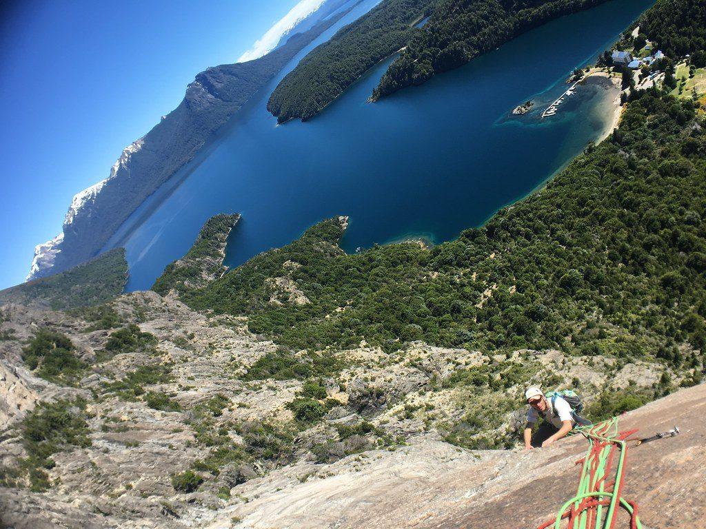 spot de grimpe en Argentine à cerro lopez Bariloche