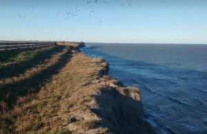 Bahía Creek, plage d'Argentine
