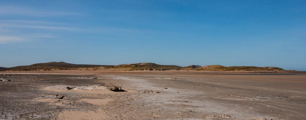 panorama des plages doradas, plage d'Argentine