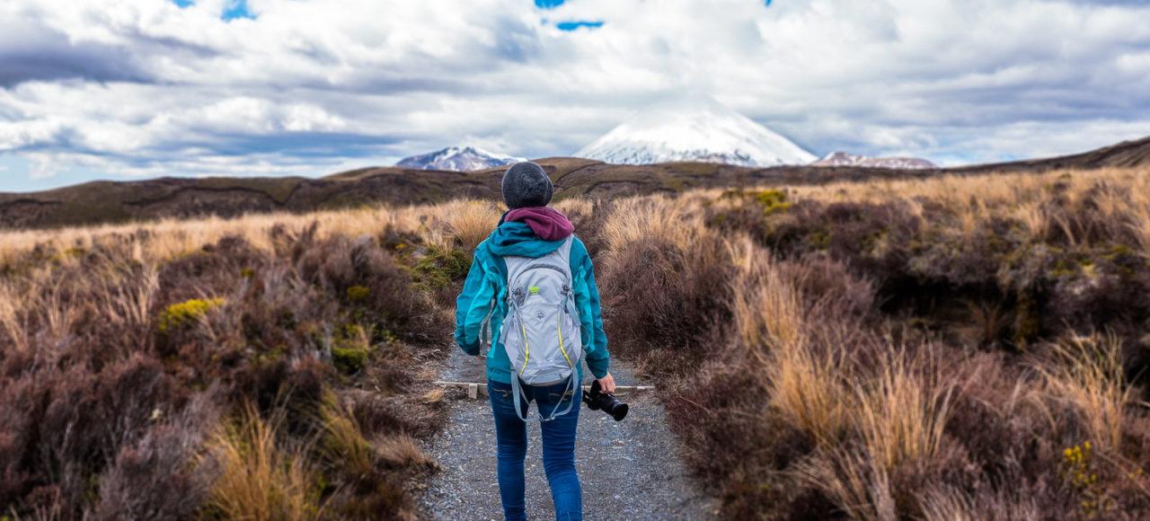 Prendre le temps d'apprécier les paysages lors d'une randonnée