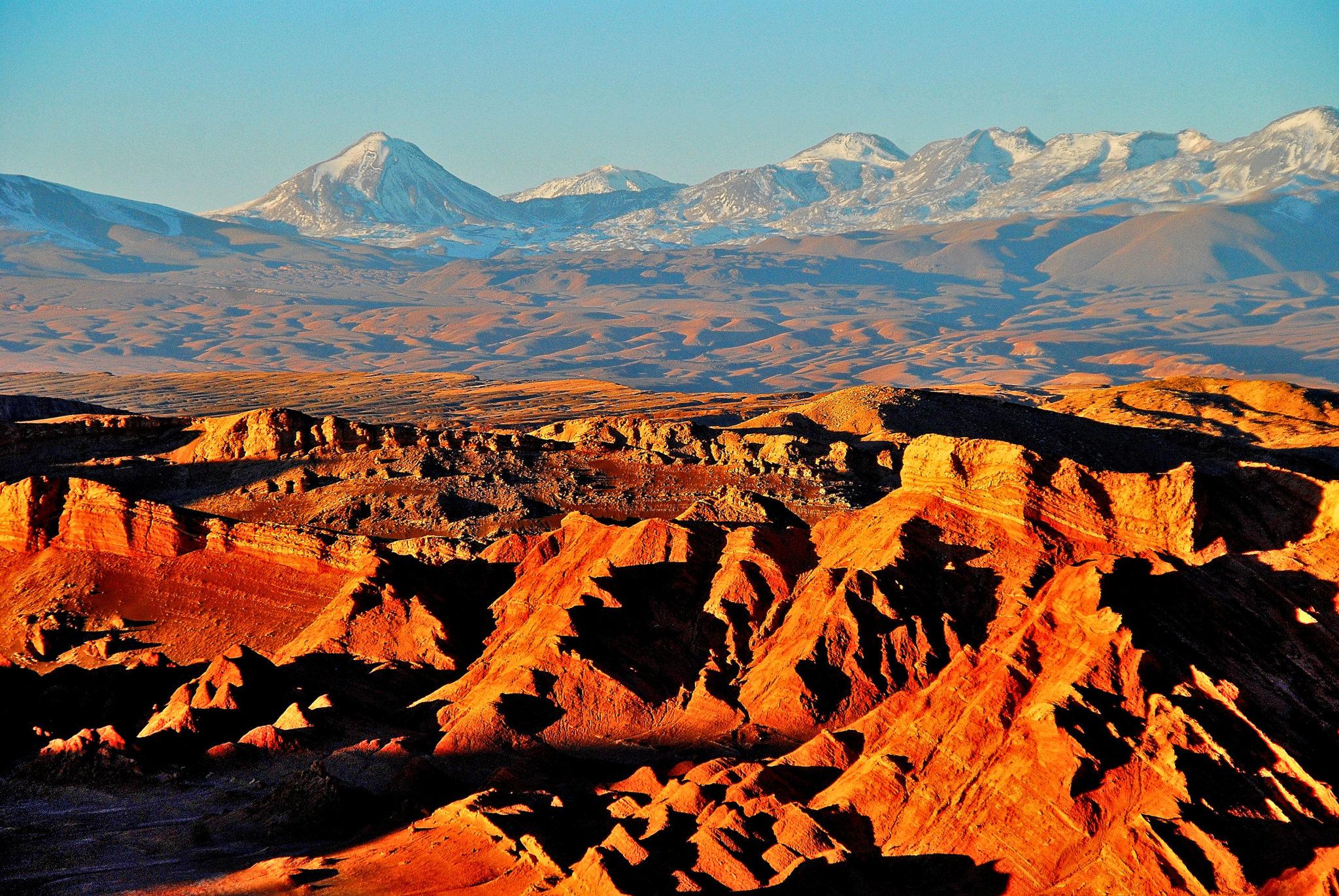 visiter le nord du chili : vallée de la luna