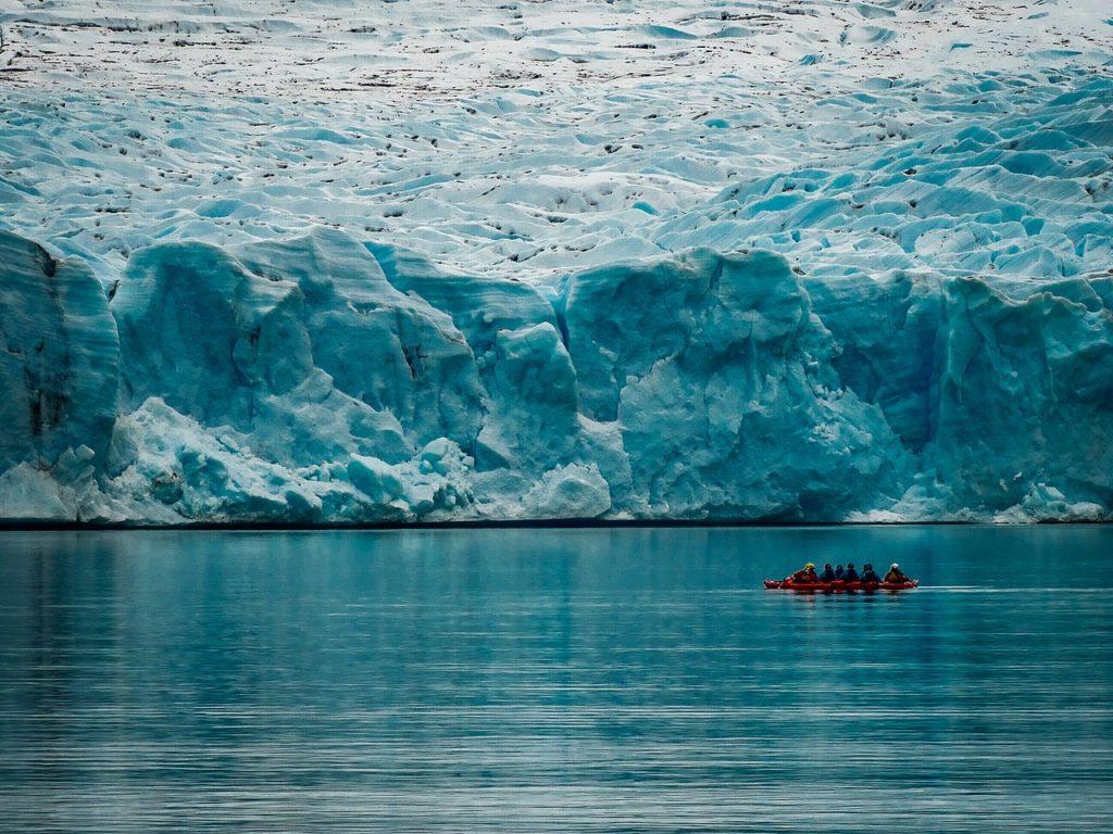 Glacier et lac Grey