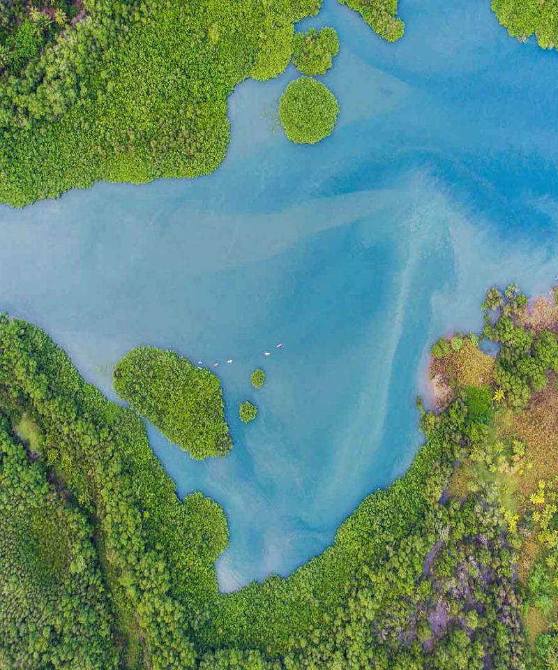Costa Rica vue du ciel