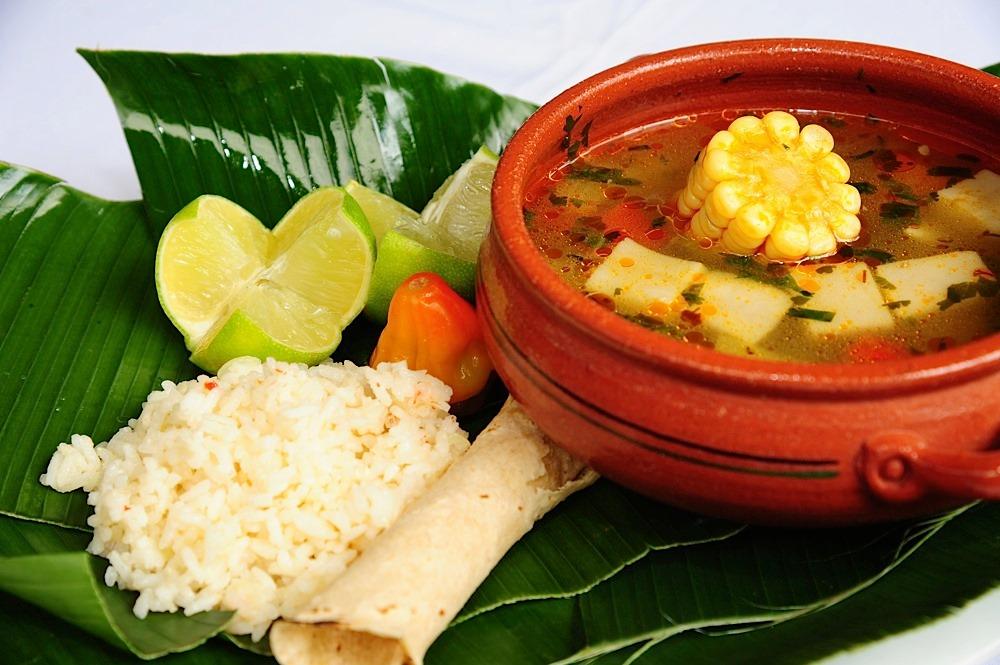 plat typique du Costa Rica