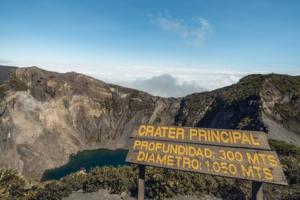 cratère volcan Irazú