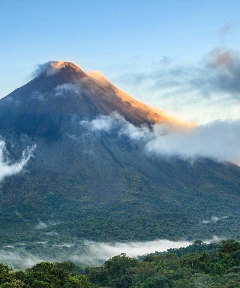 Ascension de volcan au Costa Rica