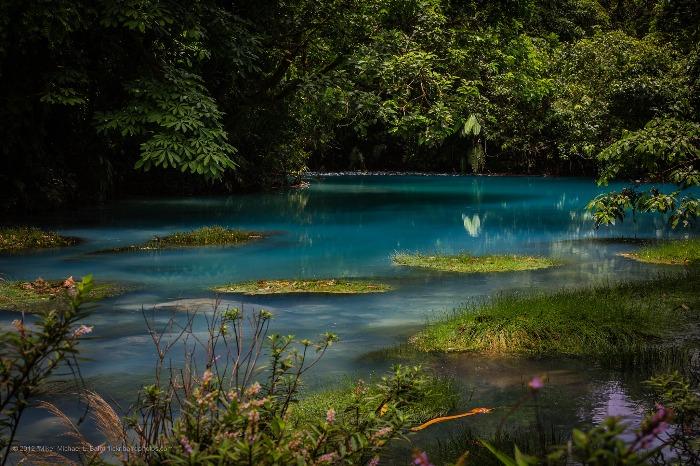 Le Rio Céleste au Costa Rica