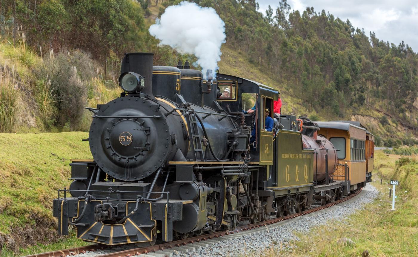 train sur des rails
