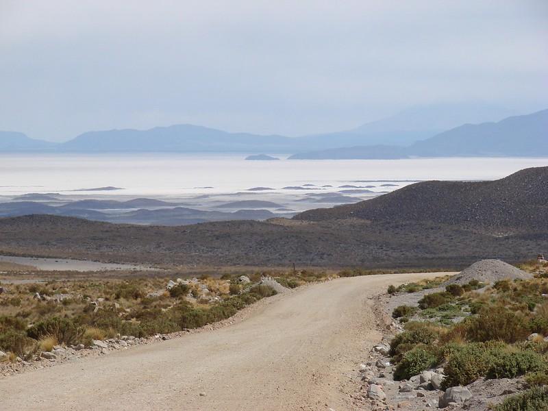 Salar Coipasa en Bolivie