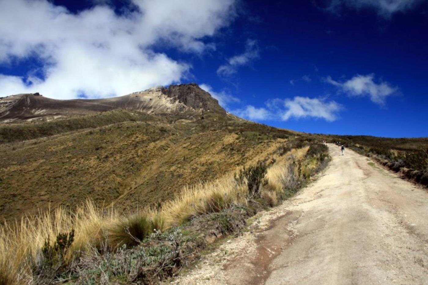 Sentier du volcan guagua pichincha