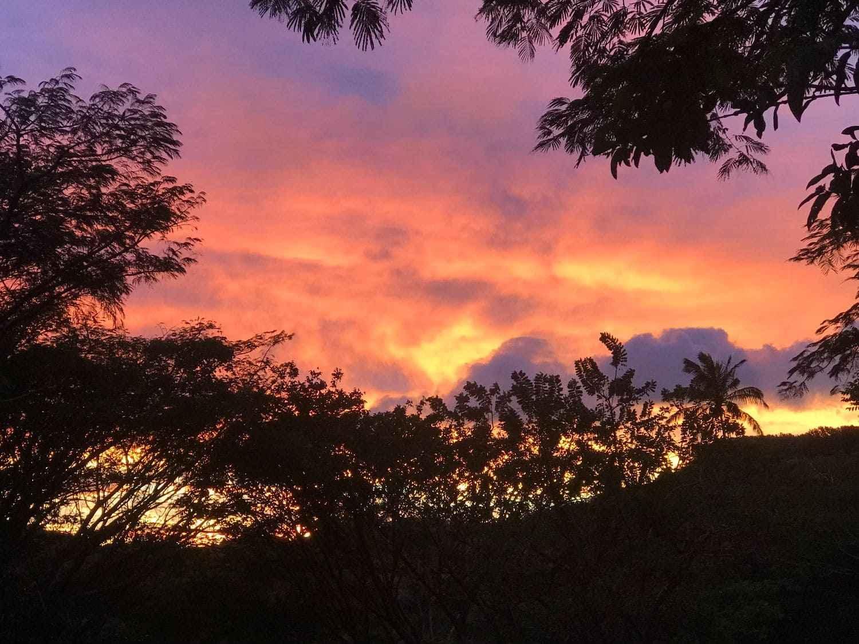 Coucher de soleil, Rincon de la Vieja