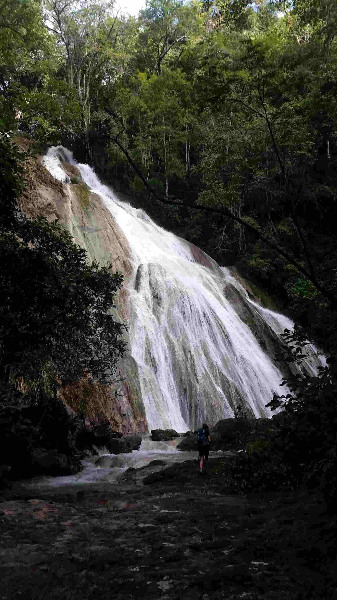 Catarata Vela de Novia, Cerro Escondido