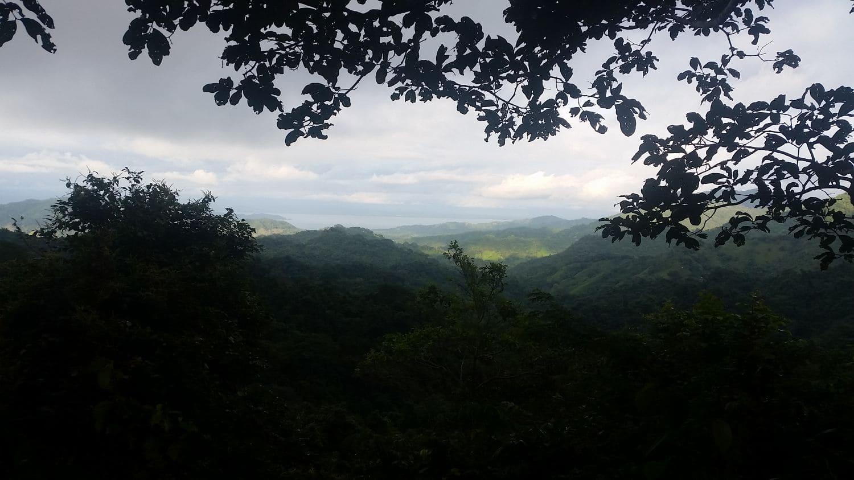 Panorama al Golfo, Cerro Escondido