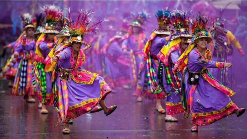 Danse du carnaval d'Oruro en Bolivie