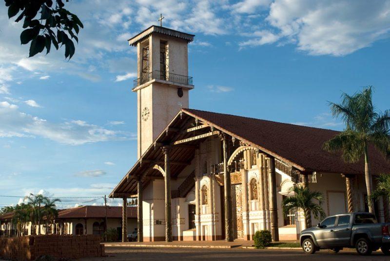 église San Francisco à San Ignacio de Velasco en Bolivie