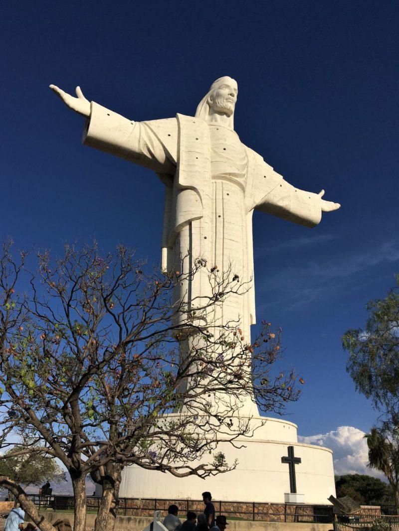 El Cristo de la Concordia, à Cochabamba, en Bolivie