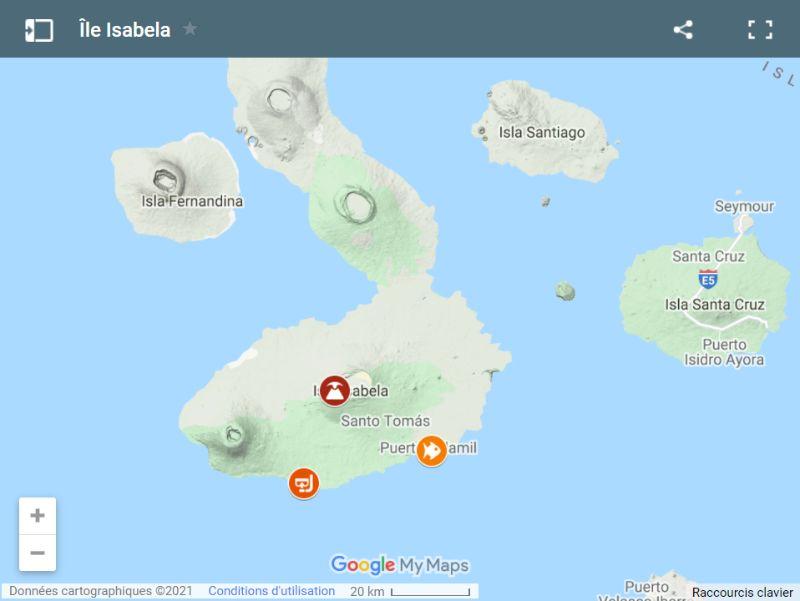 Carte d'Isabela
