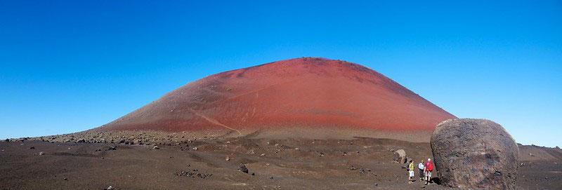 La plus grande bombe volcanique se trouve à Lanzarote au près du volcan Caldera Colorada