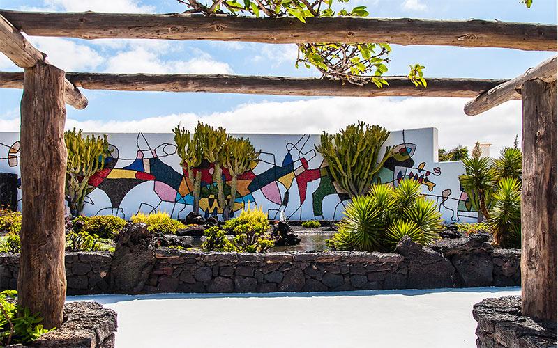 Jardin fondation de César Manrique à Lanzarote